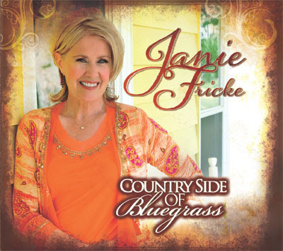 JANIE FRICKE'S ALBUM, COUNTRY SIDE OF BLUEGRASS, AVAILABLE NOW