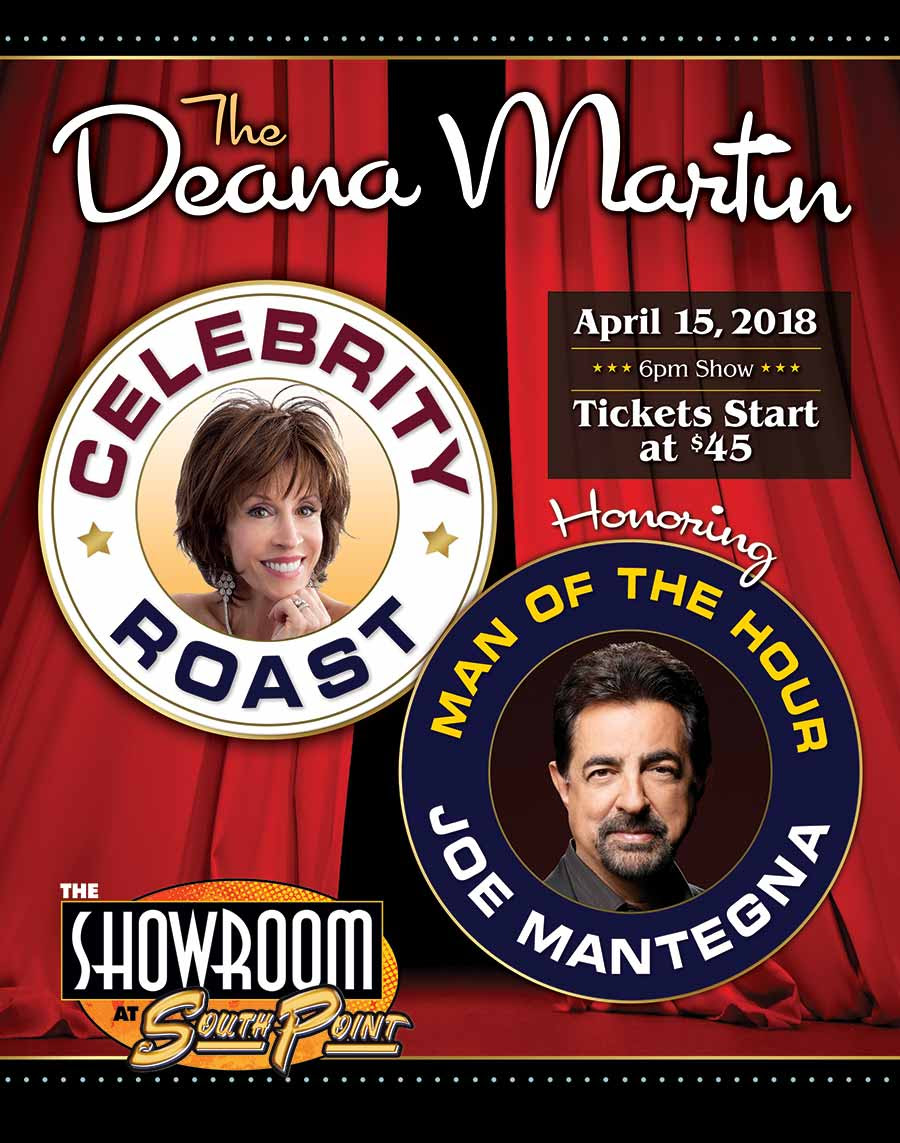 DEANA MARTIN CELEBRITY ROAST HONORING THE 'MAN OF THE HOUR' JOE MANTEGNA