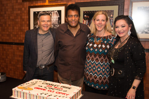 PHOTO RELEASE: Charley Pride Celebrates 25th Opry Member Anniversary