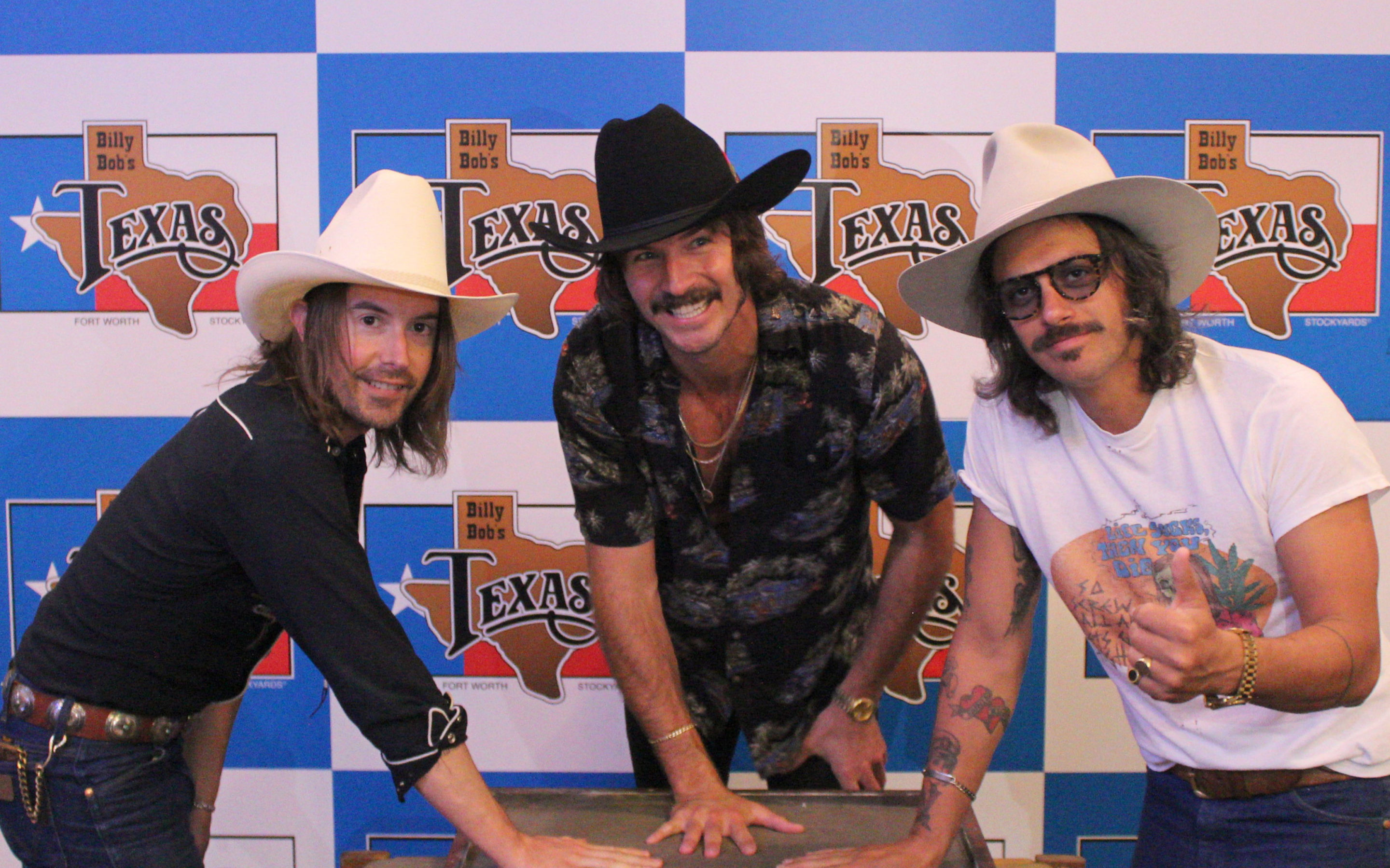 "MIDLAND ADDED TO BILLY BOB'S TEXAS ""HAND PRINTS OF STARS"" DURING RECENT SOLD OUT SHOW, JOINING GARTH BROOKS, BLAKE SHELTON, WILLIE NELSON, KEITH URBAN AND SO MANY MORE!"