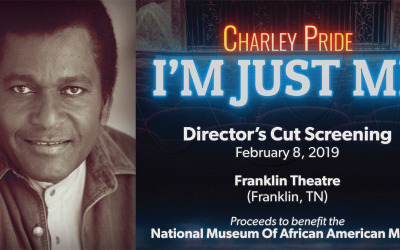"First Public Viewing of PBS American Masters Documentary About Charley Pride To Premiere At Franklin Theatre, Friday, February 8 With Extended ""Director's Cut"""