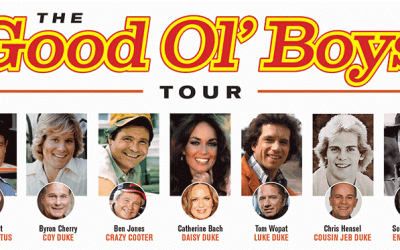 THE GOOD OL' BOYS TOUR FEATURING LUKE DUKE, DAISY DUKE, 'CRAZY' COOTER DAVENPORT, COY DUKE, COUSIN JEB DUKE, DEPUTY ENOS STRATE AND DEPUTY CLETUS HOGG BRINGS 40 YEARS OF THE DUKES TO EVENTS ACROSS AMERICA