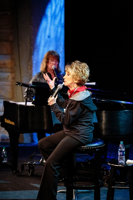 Tim Atwood Performs With Grand Ole Opry Member Jeannie Seely During Songwriter Session At The Country Music Hall Of Fame® And Museum