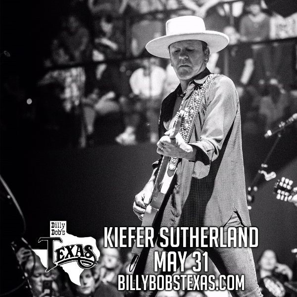 Kiefer Sutherland, Clay Walker, Gary Allan, Parker McCollum & More Headed To Billy Bob's Texas In May