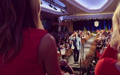 LEE GREENWOOD PERFORMS AT 107TH ANNUAL FIRST LADY'S LUNCHEON HONORING MRS. MELANIA TRUMP AND CELEBRATING INDIANA'S HOOSIER HEARTLAND IN WASHINGTON, D.C.