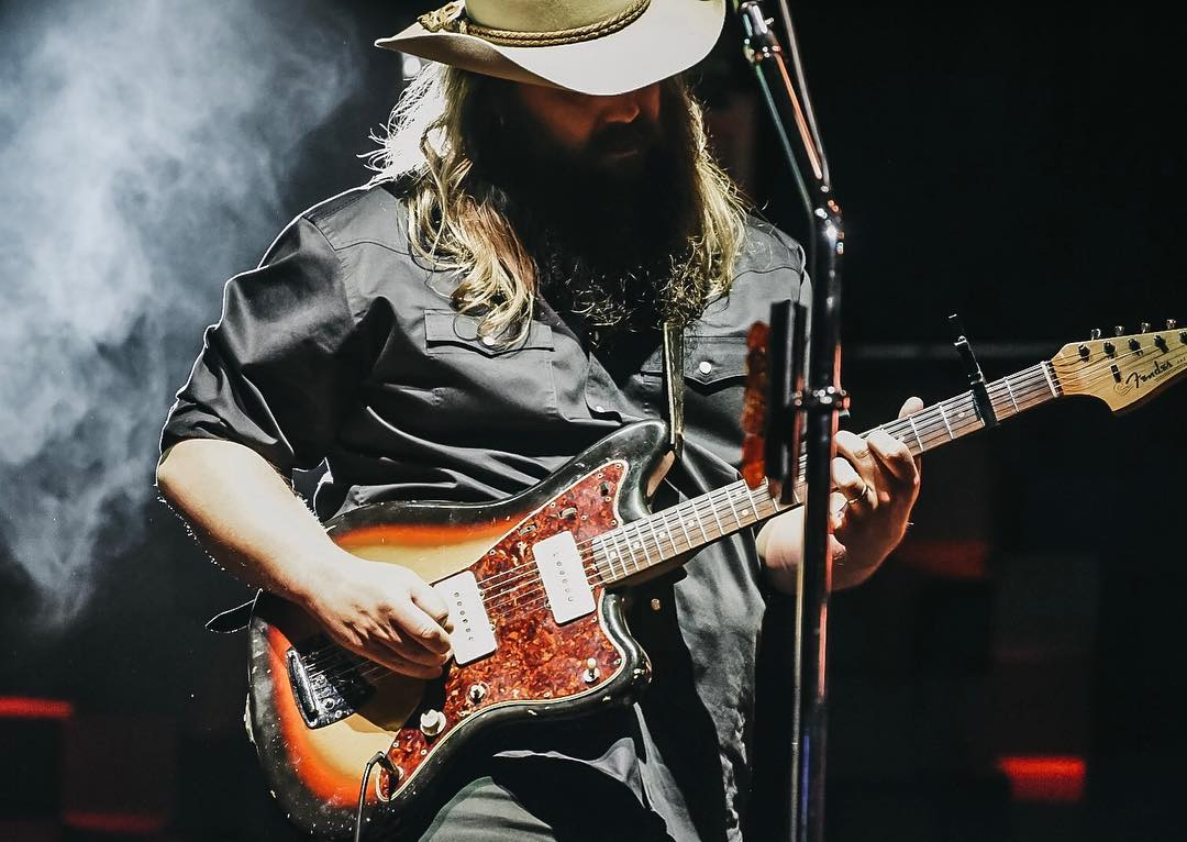 Chris Stapleton Closes Out Country Thunder Arizona To A Near-Capacity Crowd