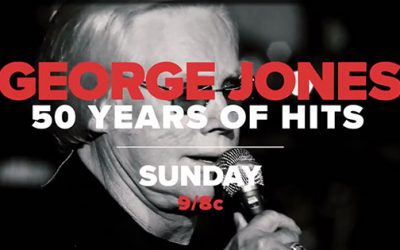 HARRY CONNICK JR., KRIS KRISTOFFERSON, AARON NEVILLE, ALAN JACKSON, KENNY CHESNEY, VINCE GILL, EMMYLOU HARRIS, MARTINA MCBRIDE, WYNONNA, TANYA TUCKER AND MORE CELEBRATE GEORGE JONES 50 YEARS OF HITS AIRING SUNDAY, JUNE 9 ON AXS TV