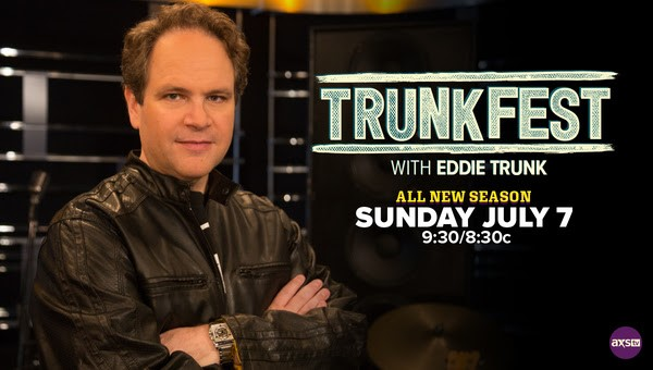 'TrunkFest' Season 2 Premiere To Highlight Sammy Hagar's High Tide Beach Party & Car Show July 7 At 9:30pm ET on AXStv