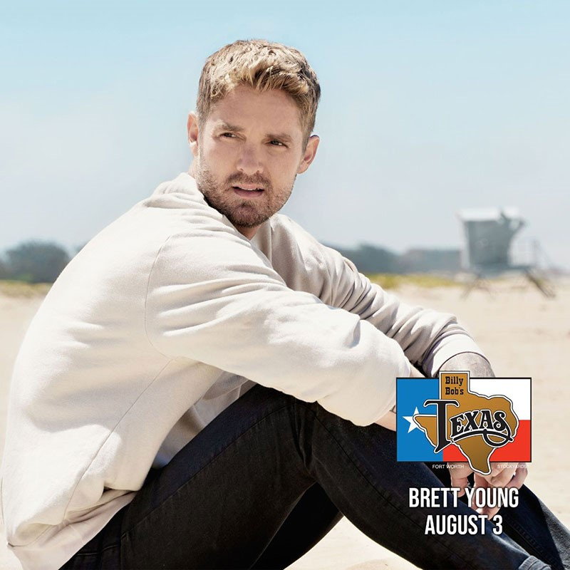 Brett Young, Roger Creager, Granger Smith, Sister Hazel & More Headed To Billy Bob's Texas In August