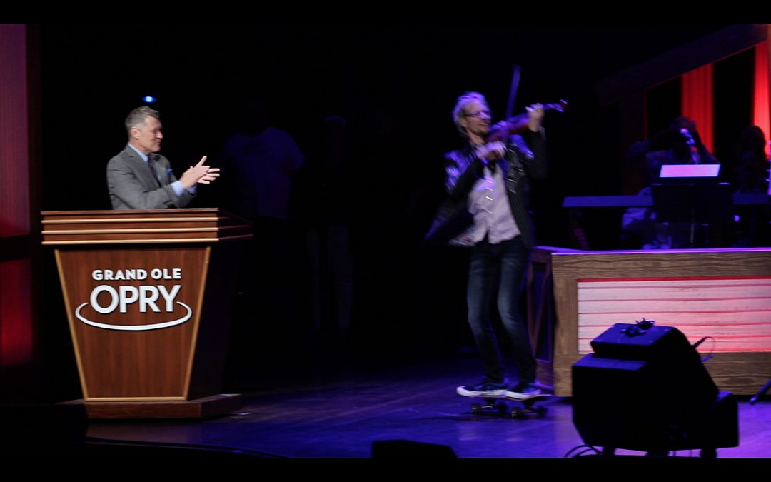 Kyle Dillingham Marks Historic Grand Ole Opry Debut Riding Dolly Parton Skateboard Onto Stage
