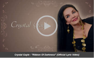 "Crystal Gayle Releases ""Ribbon Of Darkness"" Today With Lyric Video, From Forthcoming New Album 'You Don't Know Me' Out On Sept. 6"