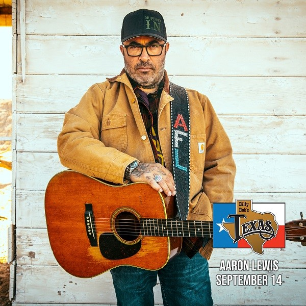 Aaron Lewis, The Wallflowers, Lee Brice, Corey Smith & More Headed To Billy Bob's Texas In September