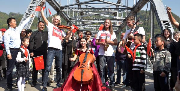 International Music Ambassador Kyle Dillingham Wraps 'The Silk Road & The Fiddle Sister State Tour' Throughout China