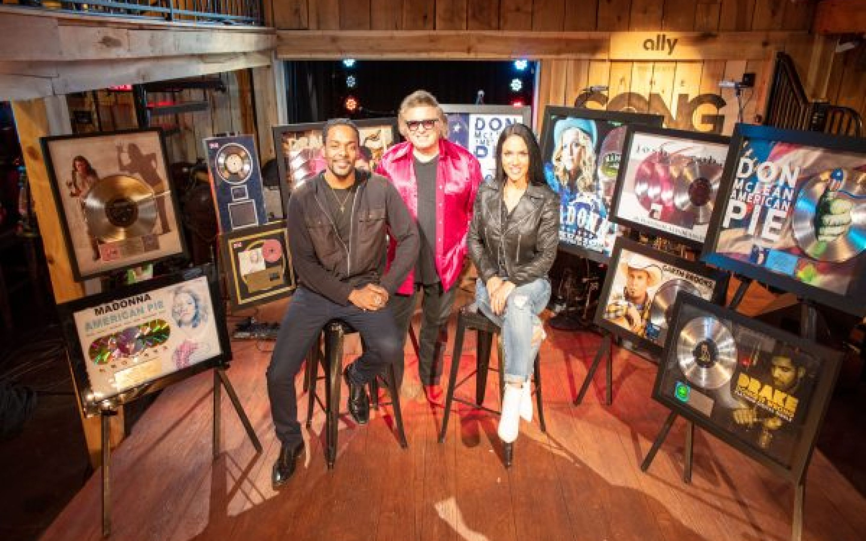 Don McLean Celebrated With Worldwide Gold, Platinum & Multi-Platinum Awards During Television Taping
