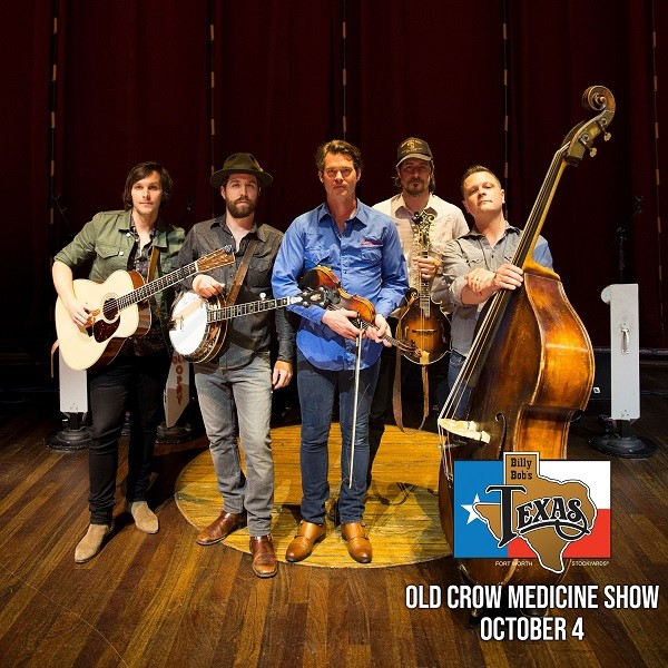 Old Crow Medicine Show, The Bacon Brothers, Josh Turner, The Bellamy Brothers, Tracy Lawrence & More Headed To Billy Bob's Texas In October