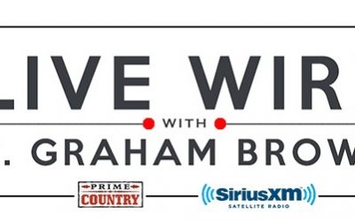 T. Graham Brown's Live Wire On SiriusXM Prime Country Channel 58 Continues Wednesday January 8 at 10/9c