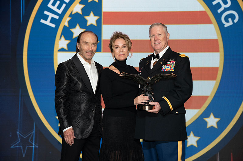 Lee Greenwood Honors Kathie Lee Gifford, Joins Ambassador Nikki Haley, 'Lone Survivor' Marcus Luttrell & Military Veterans At Helping A Hero's 2019 National Gala In Houston