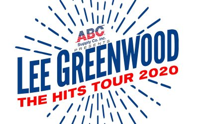 "Lee Greenwood Announces Initial Concert Dates For ""The Hits Tour 2020"" Presented By ABC Supply Co. Inc."