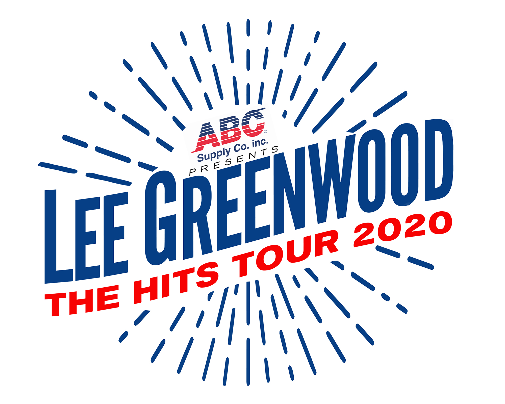 Lee Greenwood The Hits Tour 2020 [logo]