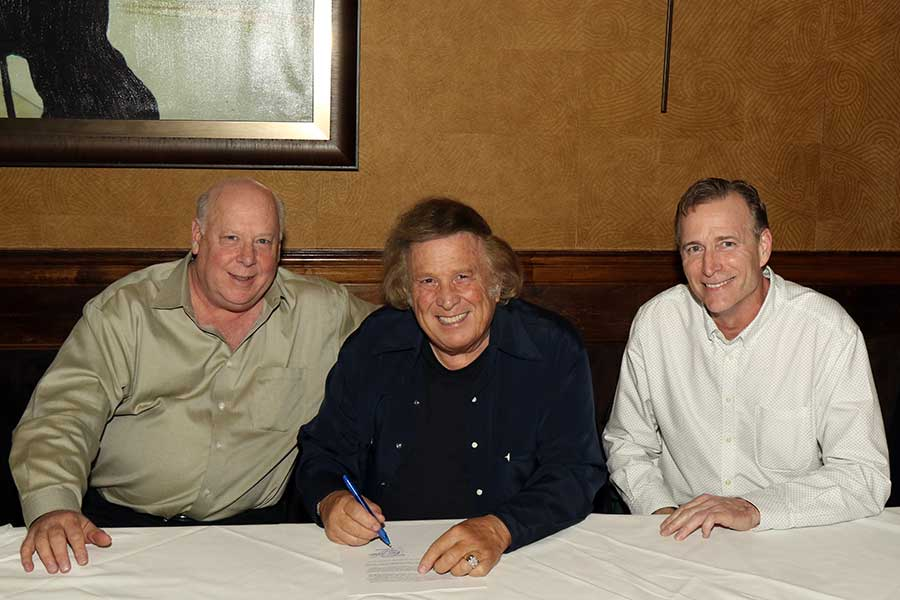 Mike Jason, Sr. VP Strategic Partnerships, Marketing & Live Entertainment, Don McLean, Tom Hemesath, VP Retail Sales