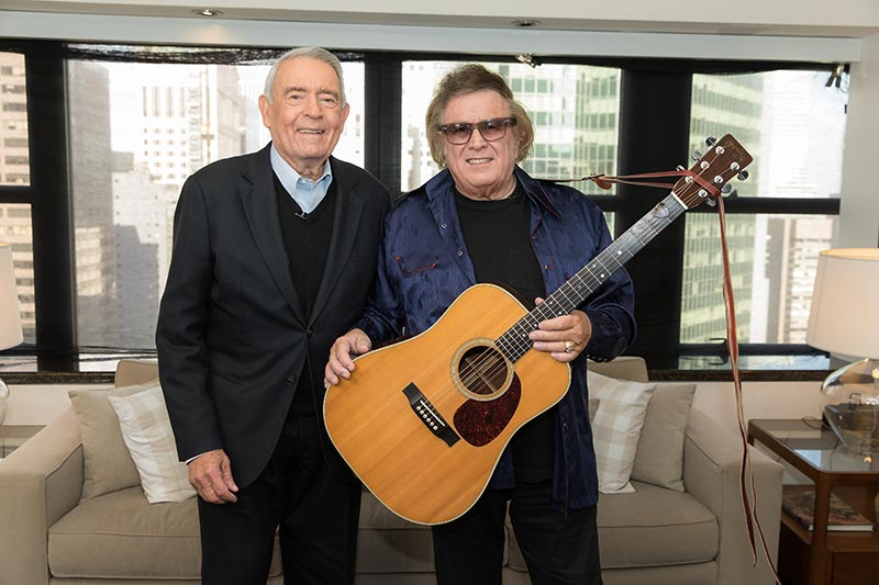 Dan Rather and Don McLean