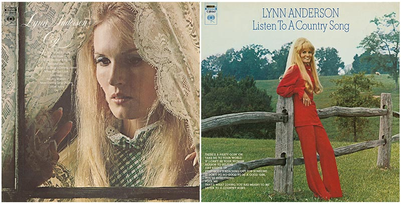 Legacy Recordings Re-Releases Lynn Anderson's Classic Albums 'Cry' and 'Listen To A Country Song' To All Digital Providers