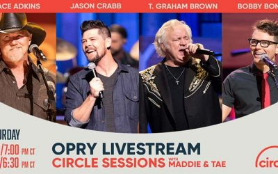 T. Graham Brown Joins Trace Adkins, Jason Crabb And Host Bobby Bones For A Special Easter Edition Of The Grand Ole Opry, Live On Circle