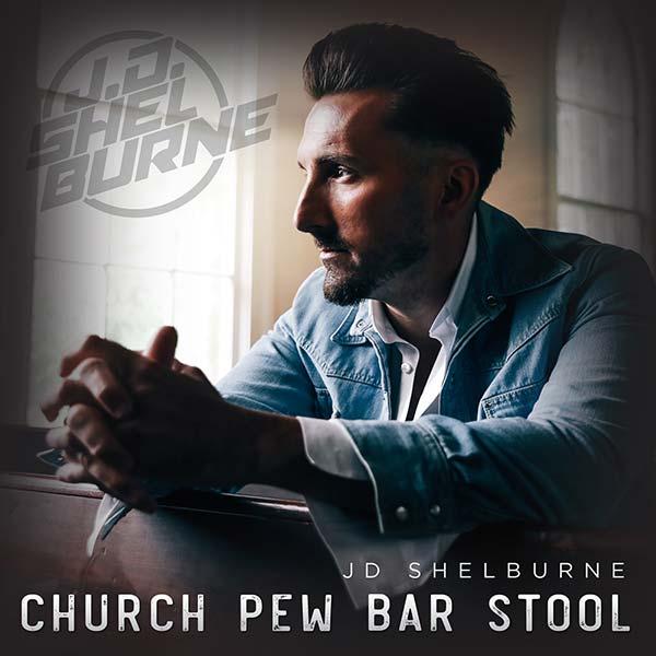 JD Shelburne - Church Pew Bar Stool