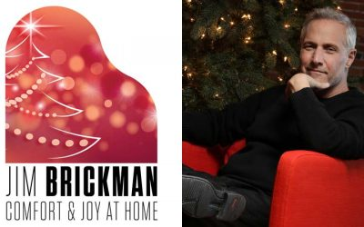 Jim Brickman To Support Local Theatres With Groundbreaking 'Comfort & Joy At Home 2020' Live Virtual Tour!