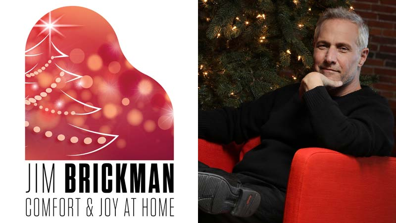 Jim Brickman - Comfort & Joy At Home