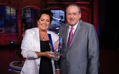 Kelly Lang Surprised On TBN's Huckabee With Induction Into The Oklahoma Music Hall of Fame