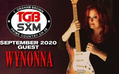 T. Graham Brown Welcomes Wynonna Judd As His Guest On September's Live Wire On SiriusXM's Prime Country Channel 58 Starting Wednesday, September 2 at 10/9c