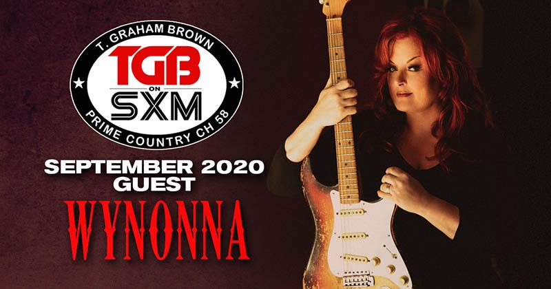 T. Graham Brown's Live Wire on Sirius XM featuring Wynonna Judd