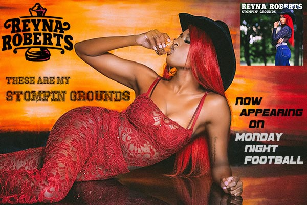 """Reyna Roberts """"Stompin' Grounds"""""""