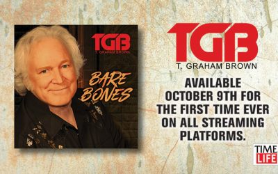 T. Graham Brown Releases Very First Acoustic Album 'Bare Bones' On October 9