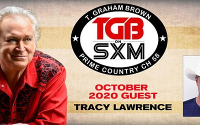 T. Graham Brown Welcomes Tracy Lawrence To October's Live Wire On SiriusXM's Prime Country Channel 58 Starting Wednesday, October 7 at 10/9c