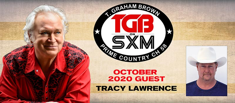 T. Graham Brown and Tracy Lawrence - LIVEWIRE on SiriusXM's Prime Country Channel 58