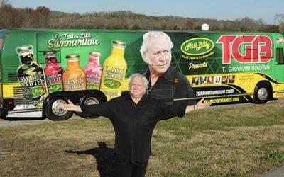 T. Graham Brown & Hillbilly Iced Teas And Lemonade Announce Partnership