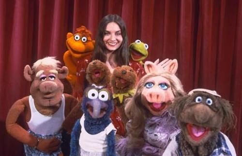 The Muppet Show cast with Crystal Gayle