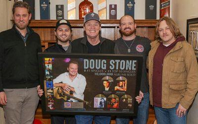 Doug Stone Celebrates 10 Million Albums Sold Worldwide