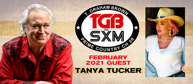 T. Graham Brown's 'Live Wire' on SiriusXM featuring Tanya Tucker