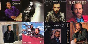 Lee Greenwood album covers