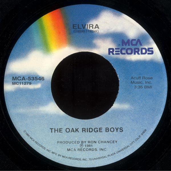 "The Oak Ridge Boys ""Elvira"""