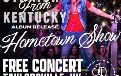 JD Shelburne Announces Hometown Concert And Album Release Party In Taylorsville, Kentucky