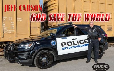 """Jeff Carson And MCC/Curb Records Re-Release """"God Save The World"""""""