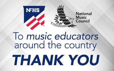 National Music Council Thanks Music Educators Around The Country