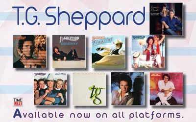 Time Life Digitally Reissues Nine Albums By T.G. Sheppard On March 26