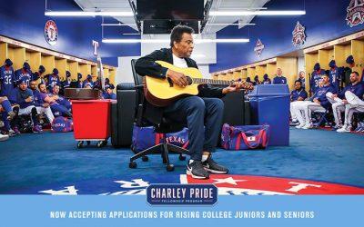 Texas Rangers Announce Charley Pride Fellowship Program