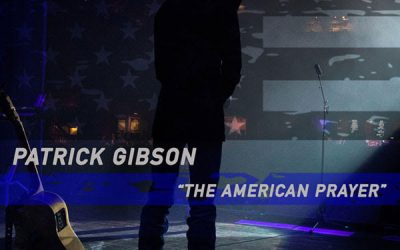 """Country Music Artist Patrick Gibson Releases """"The American Prayer"""" Music Video Live On Newsmax"""