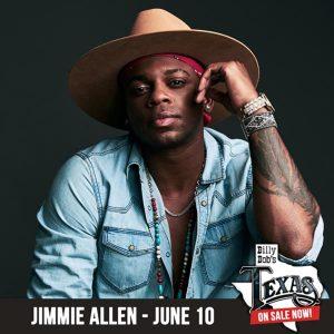 Billy Bob's Texas: Jimmie Allen (June 10th)